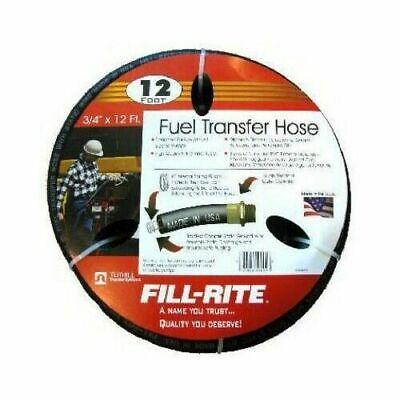 Tuthill Fill Rite Frh07512 Fuel Pump Hose 34 X 12fits 12 Volt Ac Products