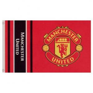 7f89c30c1cf Manchester United FC Official Large Flag (5ft x 3ft) Man Utd Present Gift