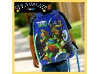Official Teenage Mutant Ninja Turtles Character Ex-Large School Backpack
