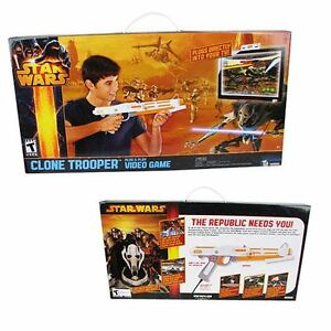 Star Wars Clone Trooper Plug and Play Video Game-New + bonus