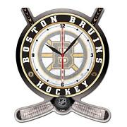 Boston Bruins Clock