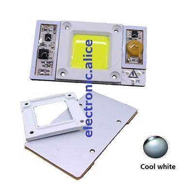 1pcs 90- 110vac High Power 50w Led Chip Built-in Driver White 6000k Led