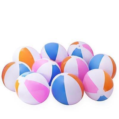 12 Beach Balls Inflates - Approx. 16