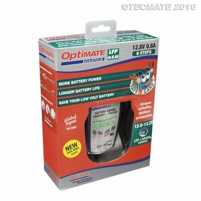 Optimate 12.8V Lithium 8 Step Motorcycle Battery Charger, Tester, Maintainer NEW