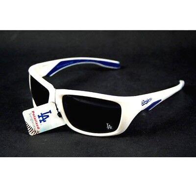 LOS ANGELES DODGERS SUNGLASSES POLARIZED WHITE FRAME UV 400 PROTECTION NEW (Dodgers Sunglasses)