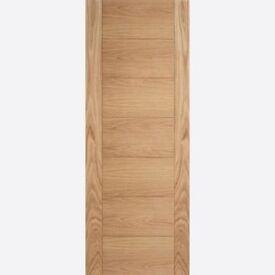 Brand New B grade LPD Carini Solid 7 Panel Pre finish Doors Fire RRP£229