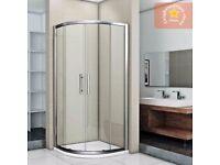 Aica Quadrant Shower Enclosure (900mm x 900mm, 8mm glass)