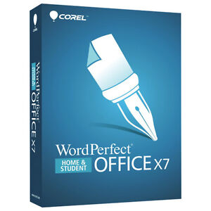 Wordperfect Office X7 Home and Student Edition