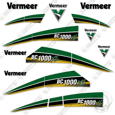 Vermeer Bc1000xl Tier 4i Gas Brush Chipper Decal Kit Bc 1000 Xl