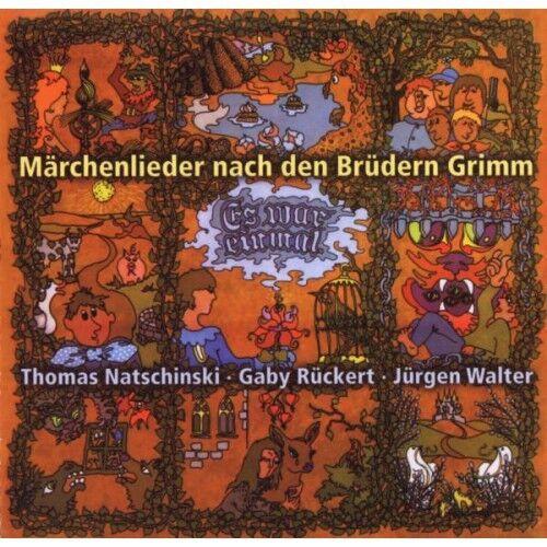 NATSCHINSKI RÜCKERT Märchenlieder der Brüder Grimm Kinder CD * NEU