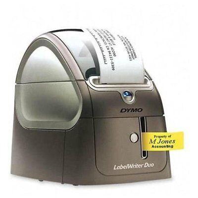 Dymo Labelwriter 450 Duo Label Printer - Monochrome - Direct Thermal - 0.8 Dymo Labelwriter 450 Duo