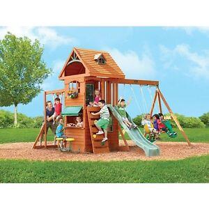 Big Backyard RIDGEVIEW MODEL - Outdoor Swing Set / Play Set