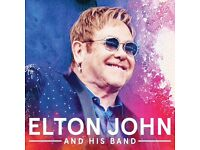 Excellent Front Of Stage Elton John Tickets 3/12/16