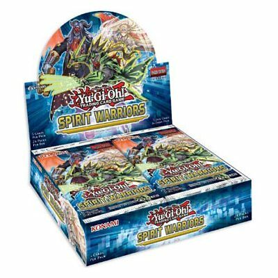 Yugioh Yu-Gi-Oh! Spirit Warriors 1st Edition Booster Box 24ct SEALED & IN HAND!!