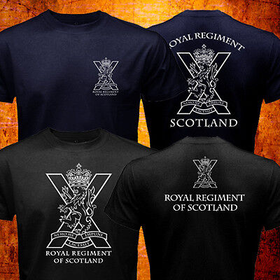 New The Royal Regiment Of Scotland Scotish British Army Special Force T Shirt