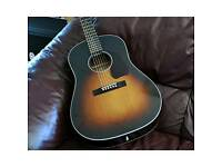 Sigma JM-SG45 Acoustic guitar with factory pickup and preamp