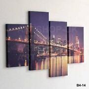 City Canvas Wall Art