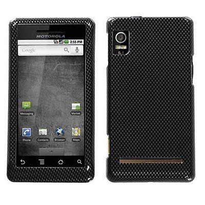 Design Crystal Hard Case for Motorola Droid 2 A955 - Carbon -