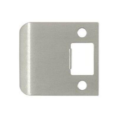 Extended Full Lip Strike Plate US15 Satin Nickel Door Lock Striker