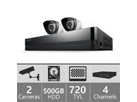 Samsung SDS-P3022/EU 500GB 2 Camera 4 Channel 960H DVR CCTV Security System RRP £250
