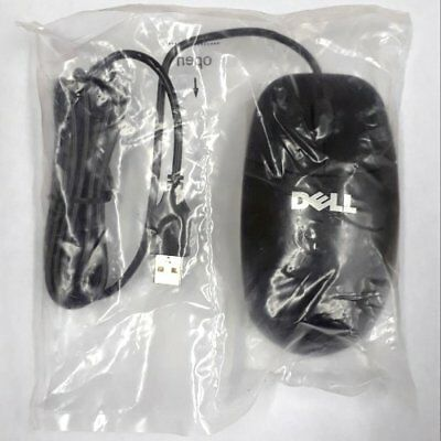 New Dell OEM 3-Button Ball Mouse USB Wired with Scroll Wheel P/N: 0YH958 (Scroll Ball Mouse)