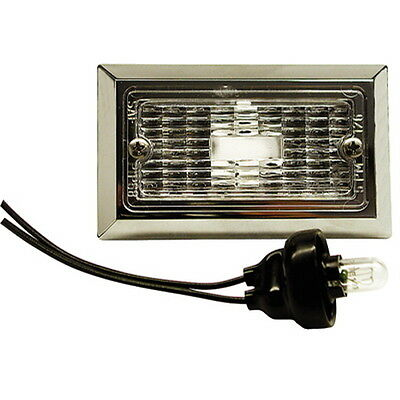 Flush Mount Chrome Plated Courtesy, Accent and Step Light for Boats