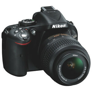 NEW YEARS SALE Nikon D5200 24.2MP DSLR + 18-55mm VR II Lens