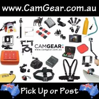 GoPro Action Camera Accessories from as little as $1 - Brand New
