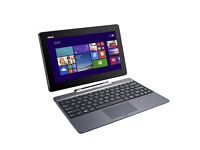 "Refurbished ASUS T100TAF Transformer Book, 10.1"",Atom quad core,2GB RAM,32GB SSD,Win 8,6Mon Warranty"