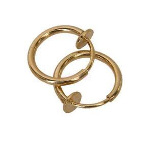 Cartilage Hoop Earrings