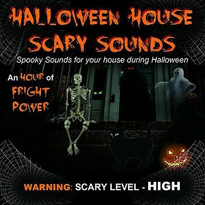 Halloween House Scar - Halloween House Scary Sounds [New CD]