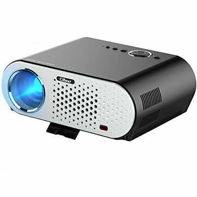 CiBest GP90 Video Projector Portable HD 1080p LCD Projector  3500 Lumens
