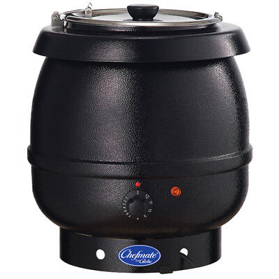 Commercial Soup Warmer 13-110diam.x14-15h 10-12 Qt. Capacity