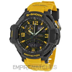 *NEW* CASIO G-SHOCK MENS AVIATION TWIN SENSOR WATCH - GA-1000-9B - RRP £260