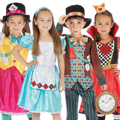Wonderland Fairy Tale Kids Costumes Boys Girls World Book Day Character Costumes - Boy Fairy Tale Costumes