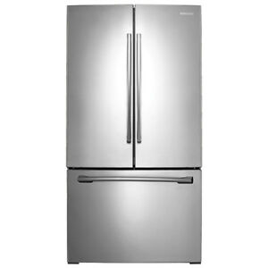 "Samsung 36"" 25.5 Cu. Ft. French Door Refrigerator with LED Light"
