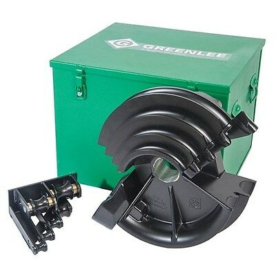 NEW GREENLEE PVC COATED SHOE GROUP 555DX & 555CX QUAD SMART Conduit Pipe Bender