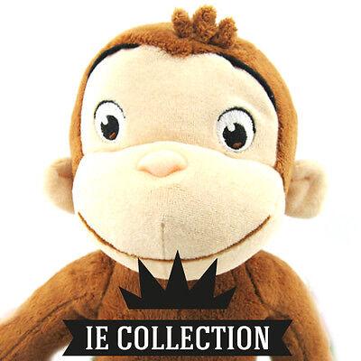 CURIOSO COME GEORGE PELUCHE 30 CM pupazzo cartone dvd plush Curious doll scimmia