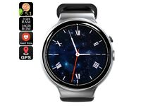 New 4 Air 3G Smartwatch Phone 1.39'' Android 5.1 Quad Core 2GB 16GB 2MP Camera