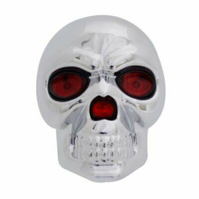 Eye Receiver - Bully Trailer Hitch Receiver Cover, Skull w/ LED Eyes CR018