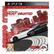 Need for Speed Most Wanted Limited Edition PS3