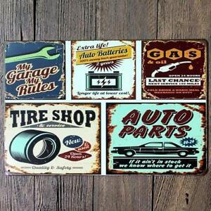 affiche pancarte neuve retro deco vintage garage en tole Saguenay Saguenay-Lac-Saint-Jean image 6