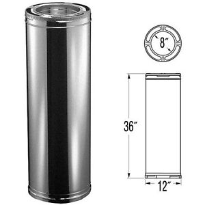 Stainless Steel Triple Insulated Chimney Stove Pipe