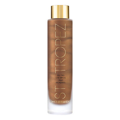 St.Tropez Self Tan Luxe Dry Oil 100ml NEW