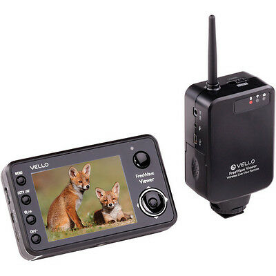 Remote Viewer - Vello FreeWave Viewer Wireless Live View Remote for Canon