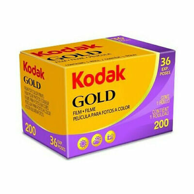 KODAK GOLD 200 35mm Camera Film 36exp (UK Stock) BNIB Lomography