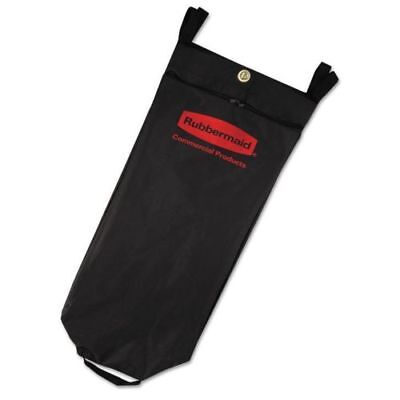 Rubbermaid Fabric Cleaning Cart Bag 26 Gallon Black Rcp 9t81