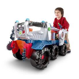 Imaginext supernova battle rover toy