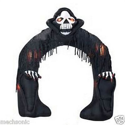 Halloween Inflatable Decoration Inflatable Halloween Arch with Grim Reaper s