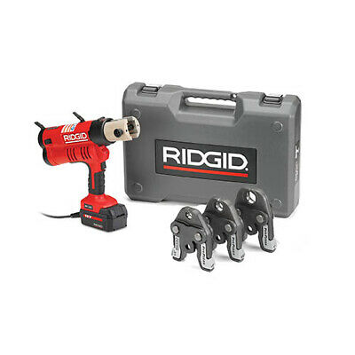 Ridgid 43368 Rp 340 Corded Press Tool Kit Wpropress Jaws 12-1